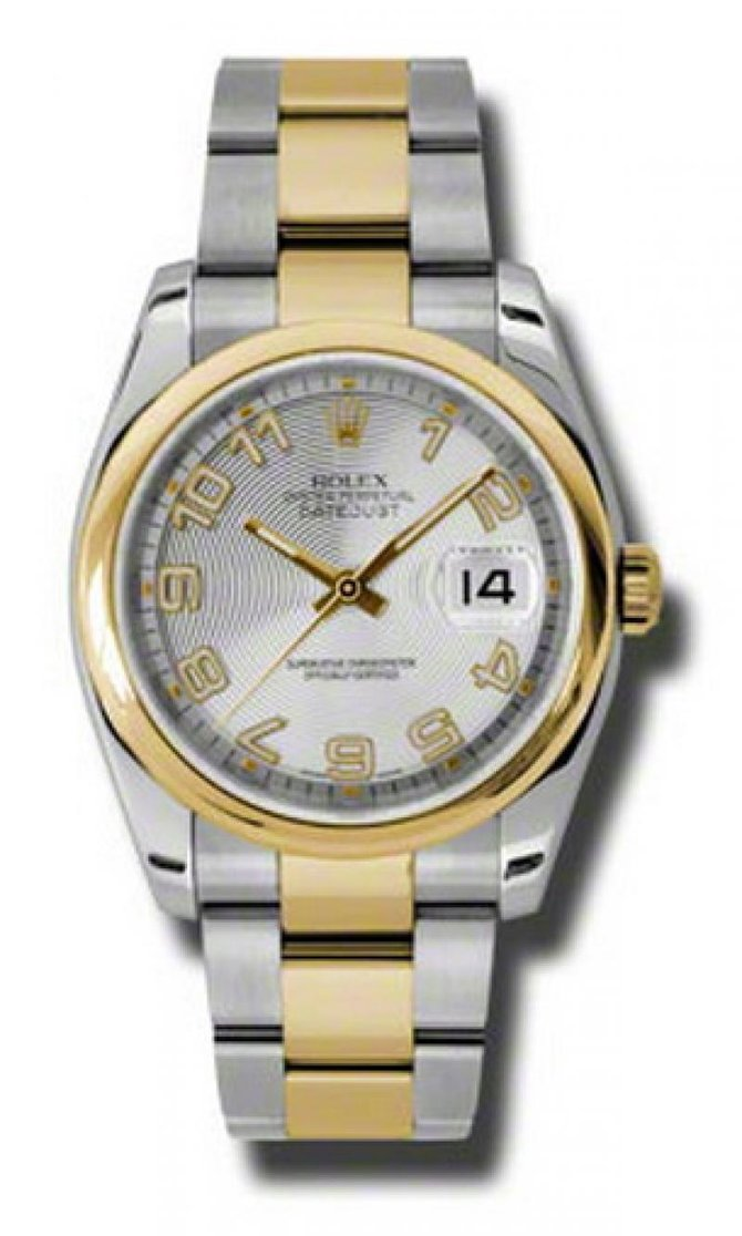 Rolex 116203 scao Datejust Steel and Yellow Gold - фото 1