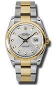Rolex Datejust 116203 sdo Steel and Yellow Gold