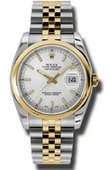Rolex Datejust 116203 ssj Steel and Yellow Gold
