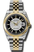 Rolex Datejust 116203 stbksj Steel and Yellow Gold