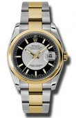 Rolex Datejust 116203 stbkso Steel and Yellow Gold
