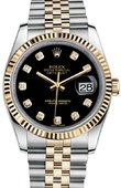 Rolex Datejust 116233 bkdj Steel and Yellow Gold