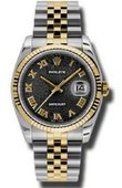 Rolex Datejust 116233 bkjrj Steel and Yellow Gold
