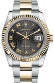 Rolex Datejust 116233 bkjro Steel and Yellow Gold