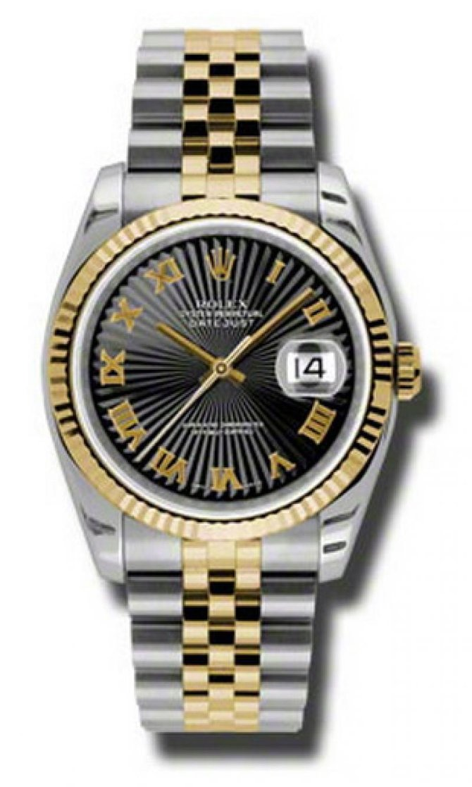 Rolex 116233 bksbrj Datejust Steel and Yellow Gold - фото 1