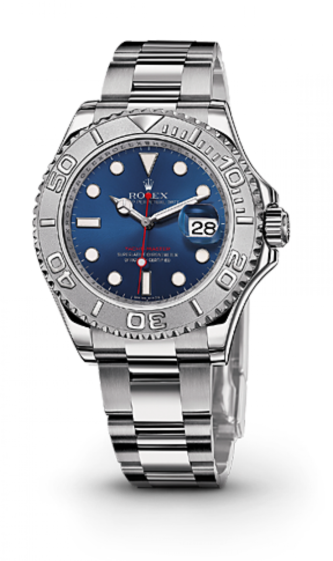 Rolex 116622 Blue Yacht Master II 40mm Platinum and Steel - фото 2