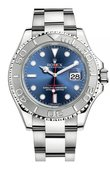 Rolex Yacht Master II 116622 Blue 40mm Platinum and Steel