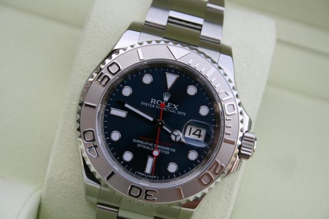 Rolex 116622 Blue Yacht Master II 40mm Platinum and Steel - фото 7