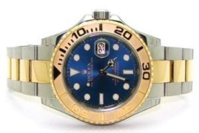 Rolex 16623 Blue Yacht Master II 40mm Steel and Yellow Gold - фото 2