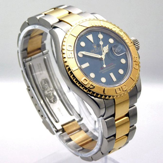 Rolex 16623 Blue Yacht Master II 40mm Steel and Yellow Gold - фото 3