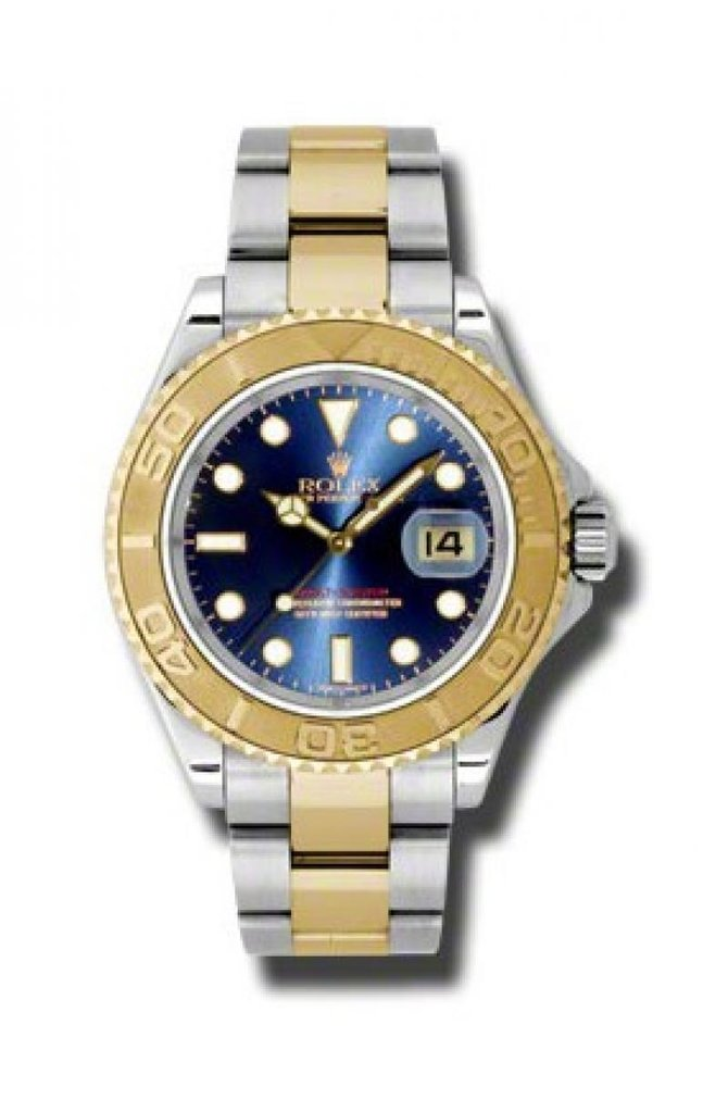 Rolex 16623 Blue Yacht Master II 40mm Steel and Yellow Gold - фото 1