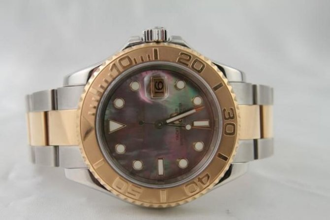 Rolex 16623 dkmop Yacht Master II  40mm Steel and Yellow Gold - фото 2