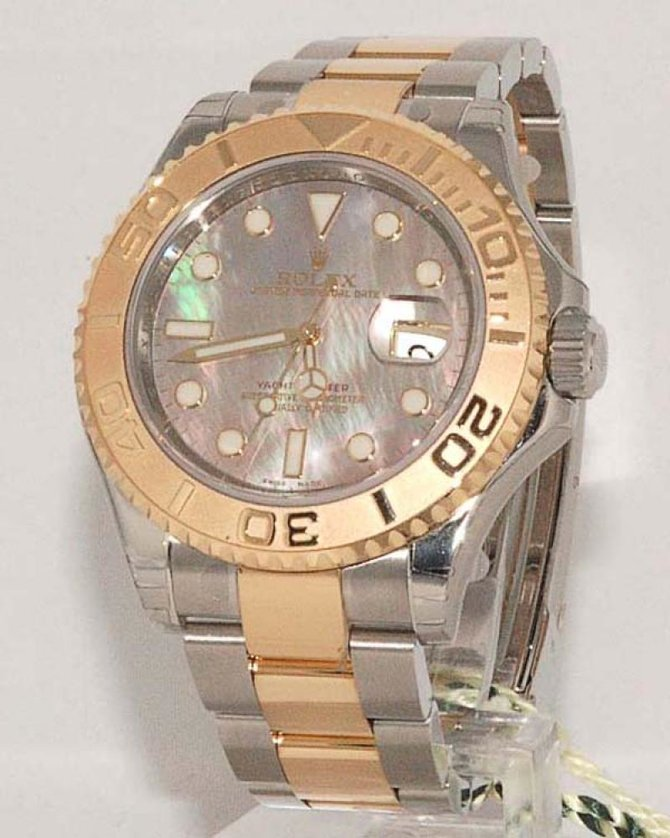 Rolex 16623 dkmop Yacht Master II  40mm Steel and Yellow Gold - фото 3