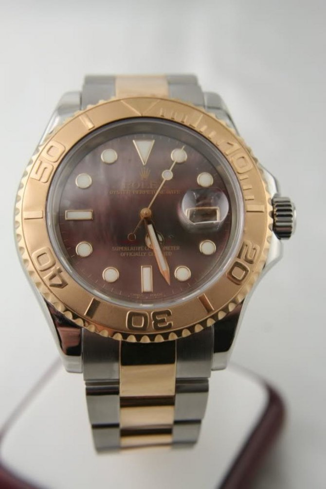 Rolex 16623 dkmop Yacht Master II  40mm Steel and Yellow Gold - фото 4