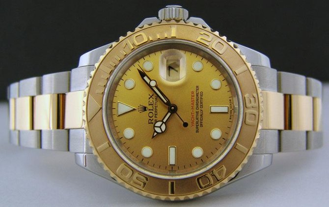Rolex 16623 Champagne Yacht Master II 16623 Champagne - фото 6