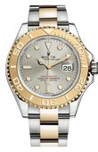Rolex Yacht Master II 16623 Grey 40mm Steel and Yellow Gold