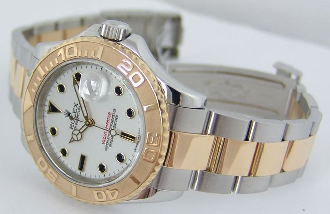 Rolex 16623 White Yacht Master II 40mm Steel and Yellow Gold - фото 5