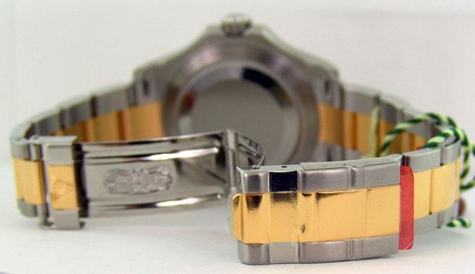 Rolex 16623 White Yacht Master II 40mm Steel and Yellow Gold - фото 4