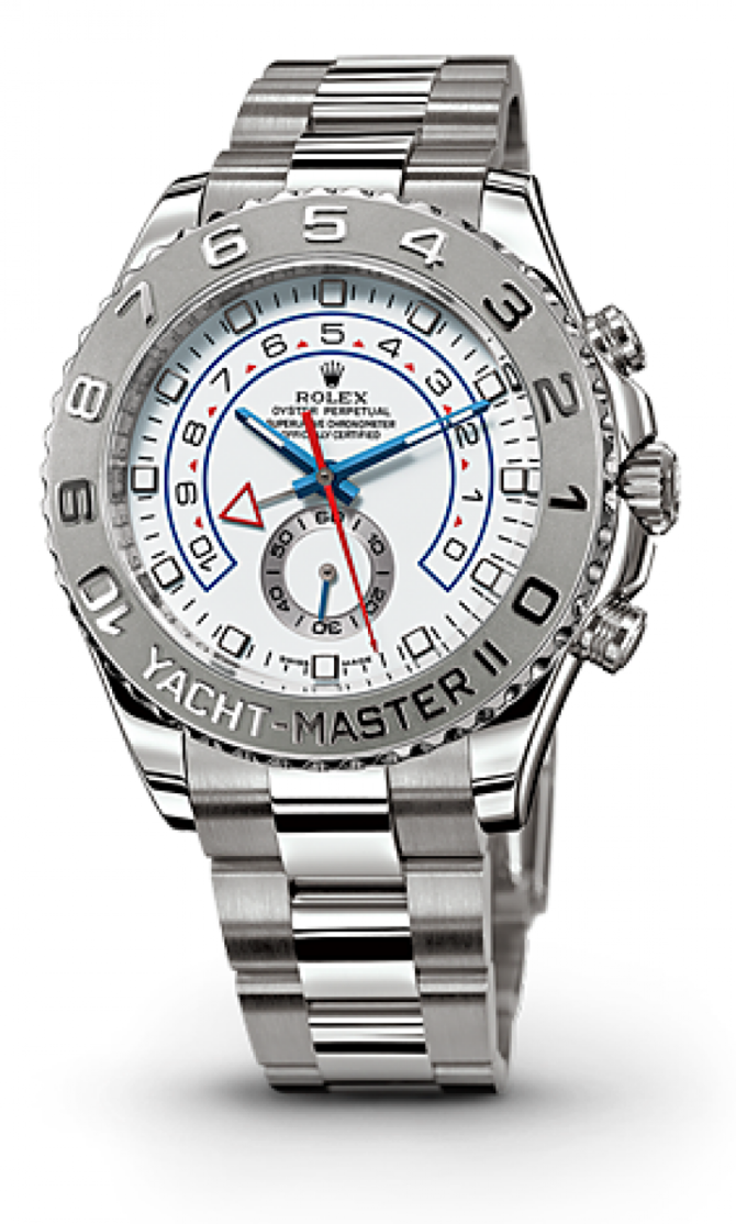 Rolex M116689-0001 Yacht Master II 44mm White Gold 2013 - фото 2