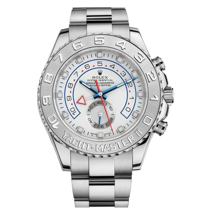 Rolex M116689-0001 Yacht Master II 44mm White Gold 2013 - фото 1