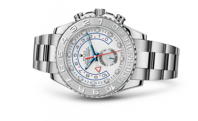 Rolex M116689-0001 Yacht Master II 44mm White Gold 2013 - фото 3