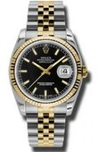 Rolex Datejust 116233 bksj Steel and Yellow Gold