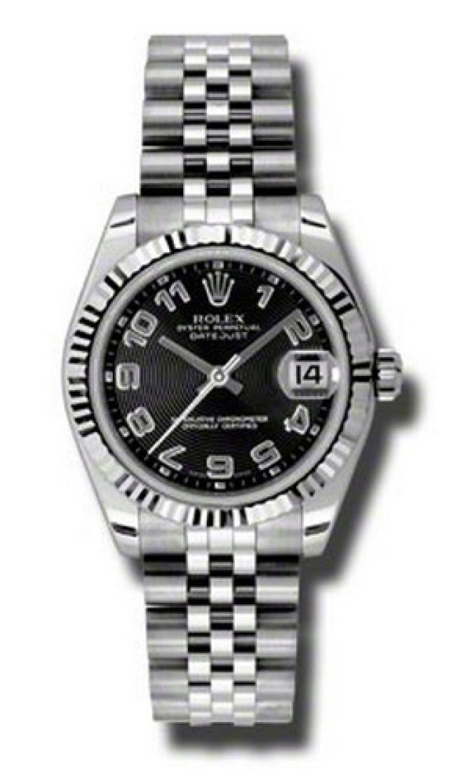 Rolex 178274 bkcaj Datejust Ladies Steel and White Gold - фото 1
