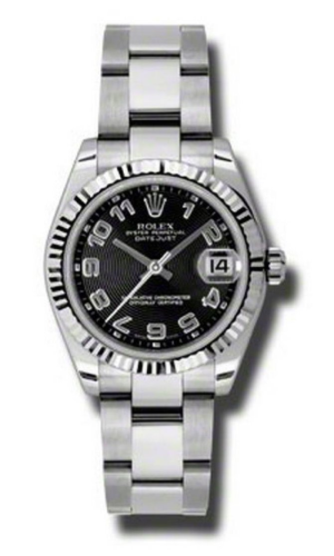 Rolex 178274 bkcao Datejust Ladies Steel and White Gold - фото 1
