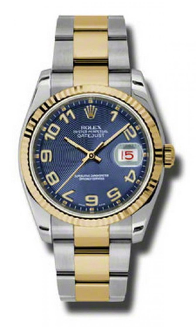 Rolex 116233 blcao Datejust Steel and Yellow Gold - фото 1