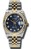 Rolex Datejust 116233 bljdj Steel and Yellow Gold