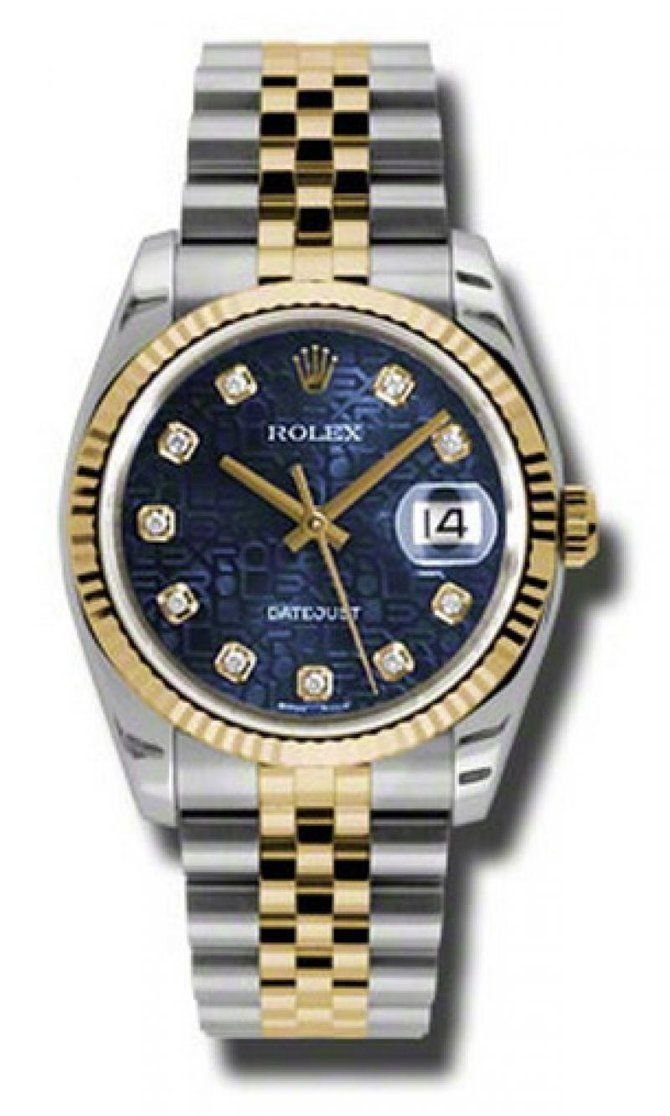 Rolex 116233 bljdj Datejust Steel and Yellow Gold - фото 1