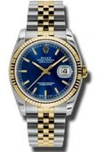 Rolex Datejust 116233 blsj Steel and Yellow Gold