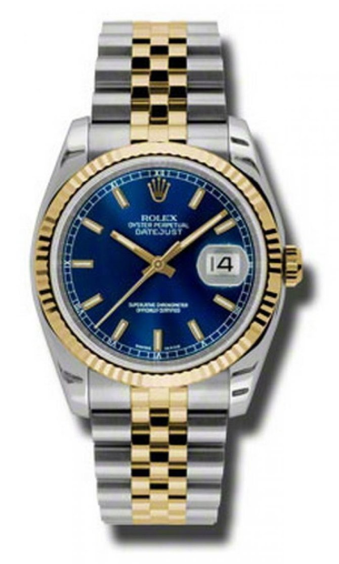 Rolex 116233 blsj Datejust Steel and Yellow Gold - фото 1