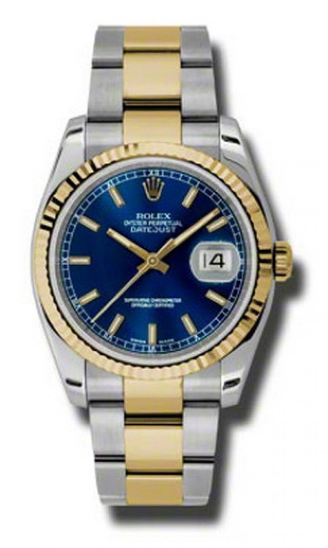 Rolex 116233 blso Datejust Steel and Yellow Gold - фото 1