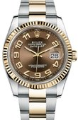 Rolex Datejust 116233 brao Steel and Yellow Gold