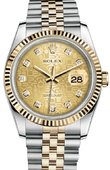 Rolex Datejust 116233 chjdj Steel and Yellow Gold