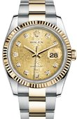 Rolex Datejust 116233 chjdo Steel and Yellow Gold