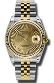 Rolex Datejust 116233 chsbrj Steel and Yellow Gold