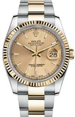 Rolex Datejust 116233 chso Steel and Yellow Gold