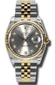 Rolex Datejust 116233 gdj Steel and Yellow Gold