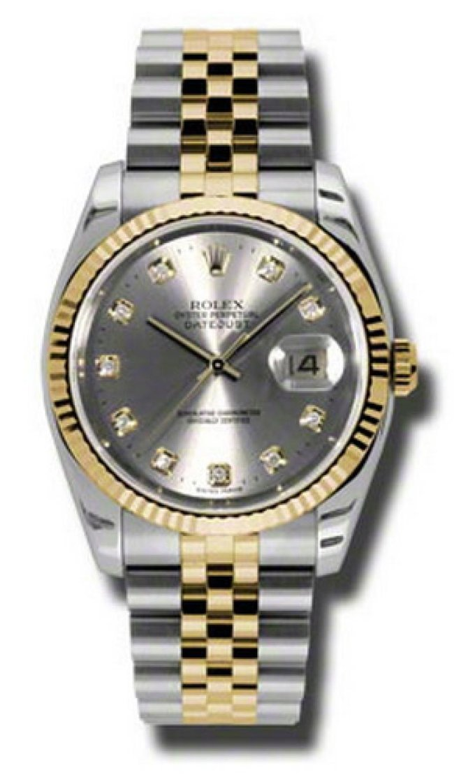 Rolex 116233 gdj Datejust Steel and Yellow Gold - фото 1