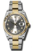 Rolex Datejust 116233 gdo Steel and Yellow Gold