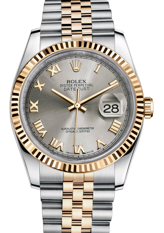 116233 grj Rolex Steel and Yellow Gold Datejust