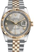 Rolex Datejust 116233 grj Steel and Yellow Gold