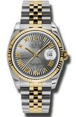 Rolex Datejust 116233 gsbrj Steel and Yellow Gold