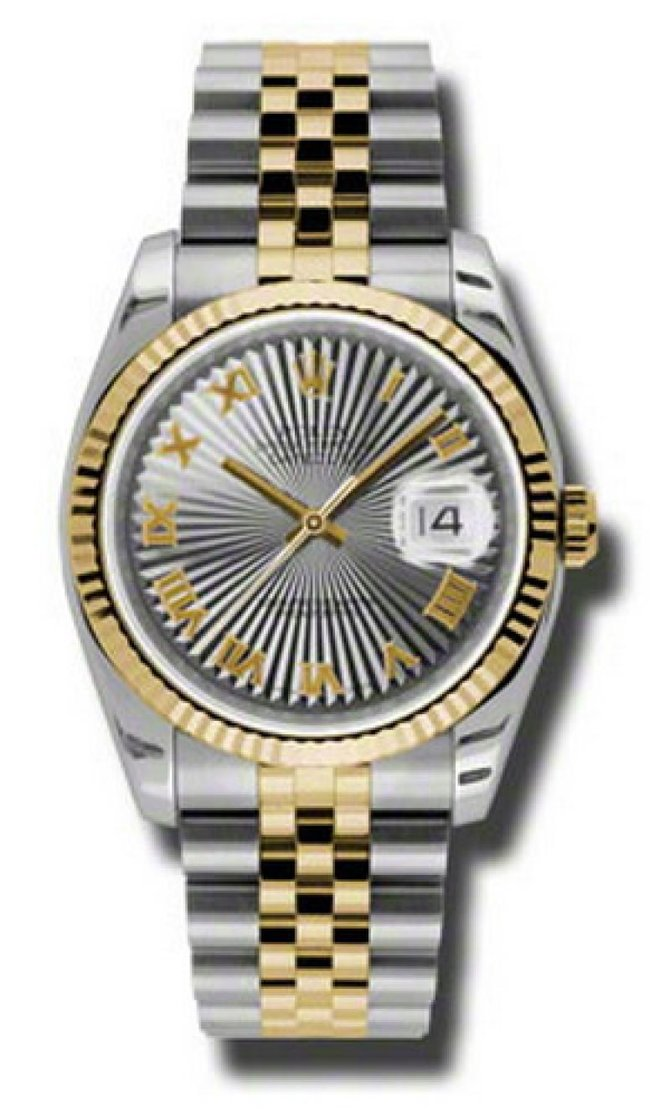 Rolex 116233 gsbrj Datejust Steel and Yellow Gold - фото 1