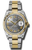 Rolex Datejust 116233 gsbro Steel and Yellow Gold