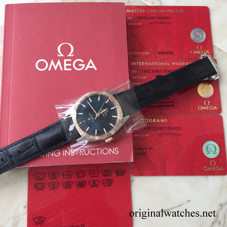 130.23.39.21.03.001 Omega Co-Axial Master Chronometer 39 mm Seamaster