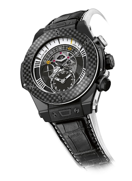 413.CQ.1112.LR.JUV15 Hublot Unico Bi-Retrograde Juventus Big Bang Unico