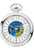 Montblanc Star 114928 4810 Orbis Terrarum Pocket Watch 110 years Edition